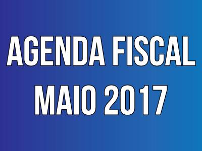 Agenda Fiscal - Maio 2017